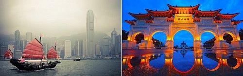 Hong Kong and Taipei, Taiwan