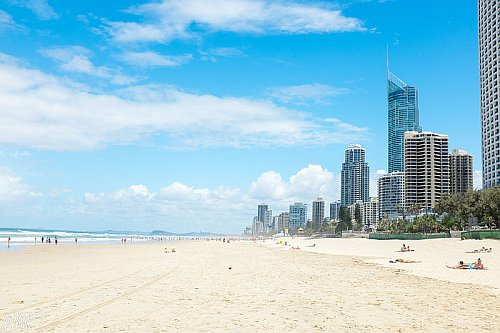 Beach on the Gold Coast, Australia