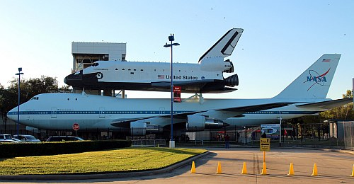 NASA Space Center in Houston, Texas