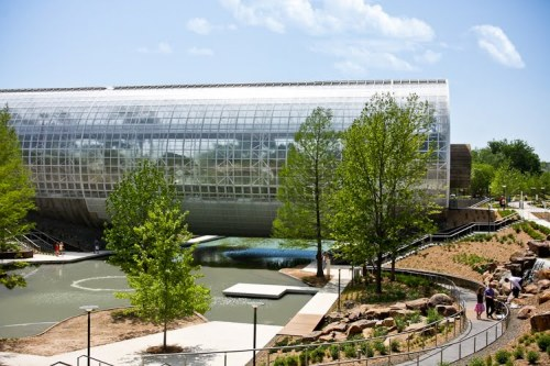 Myriad Gardens in Oklahoma City