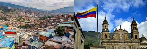 Medellin and Bogota, Colombia