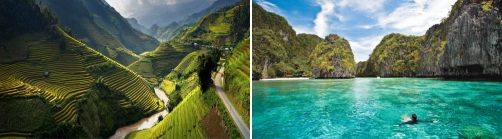 Vietnam and the Philippines