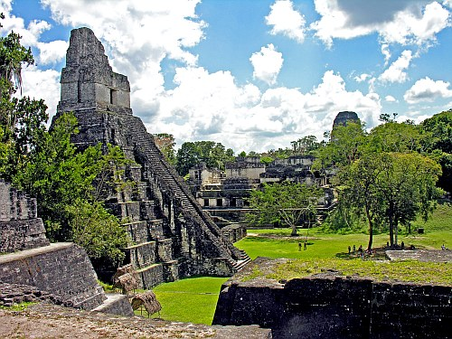 Tikal, in Guatemala