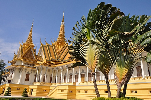 Temple in Phnom Penh, Cambodia